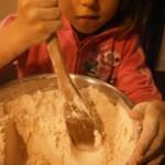 Baking Stonyfield Organic's Pumpkin-Ginger Muffins