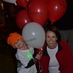 Family Raising Light the Night Funds for Blood Cancer Support