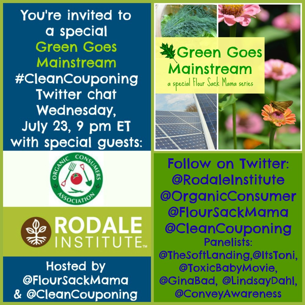 Green Goes Mainstream Twitter Chat2