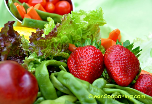 Clean Couponing foods