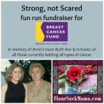 Strong, not Scared Fundraiser for Breast Cancer Fund