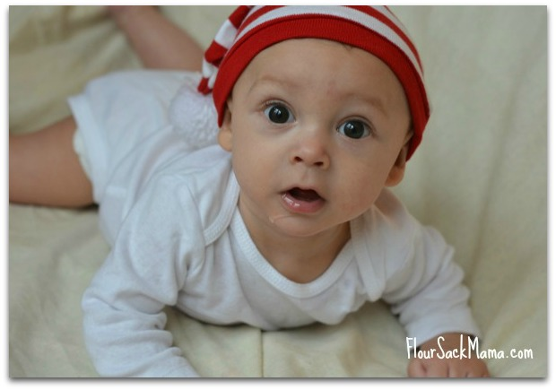 Baby 2 in Striped Christmas Cap (smaller)