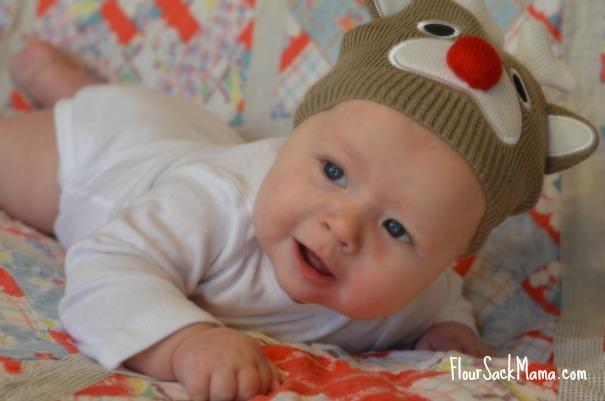 Baby in Reindeer Hat (smaller)