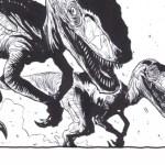 Artist Jeremy Haun Creates Dino Day for Family Time