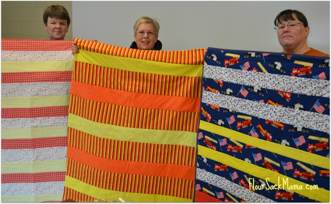 Quilting Strips Volunteers