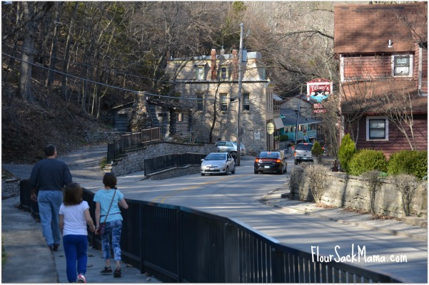 Walk downtown Eureka Springs