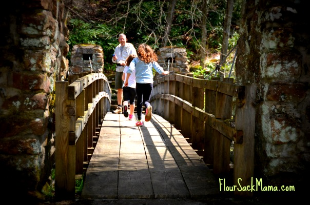 West Va foot bridge