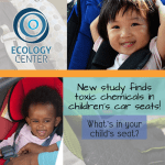 Ecology Center Detects Toxic Chemicals in Children's Car Seats