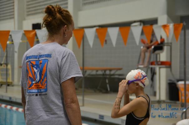 Jenna Johnson Swim Meet
