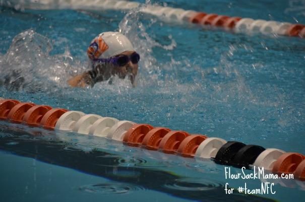 Swimmer UT Meet