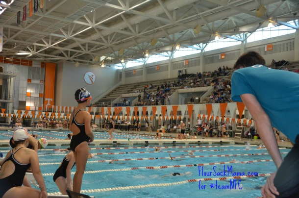 UT aquatic center on University of Tennessee campus
