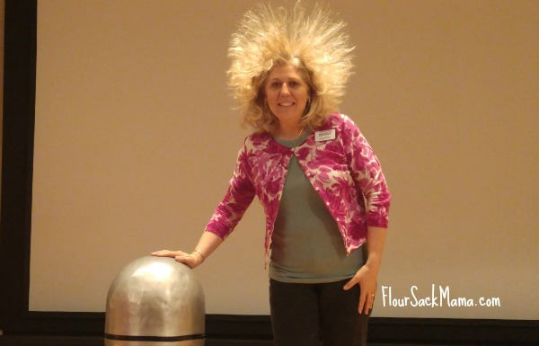 van de graaff generator demonstration