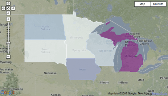 choropleth with cartographer.js