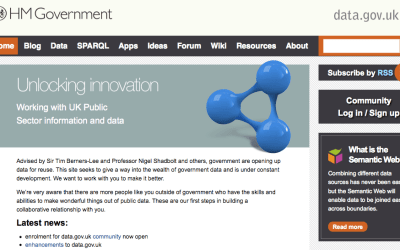Data.gov.uk Homepage