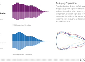 Our aging world interactive visualization