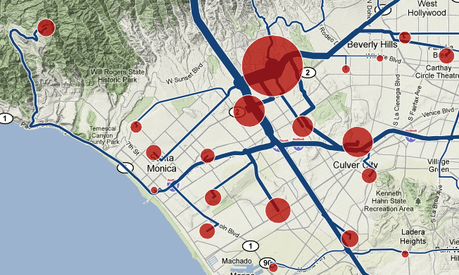 Mapping where people commute from