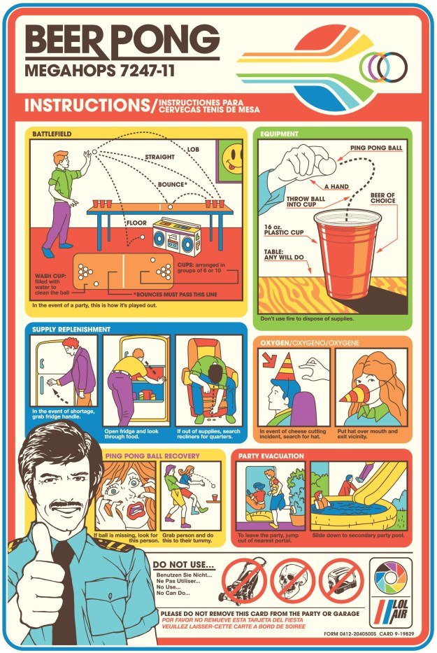 Vintage Beer Pong guide