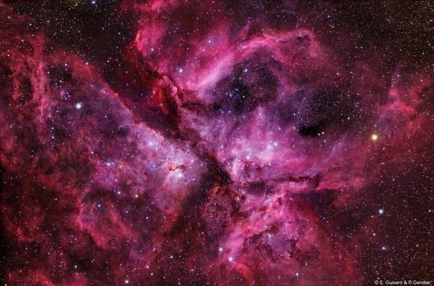 Night sky time-lapse