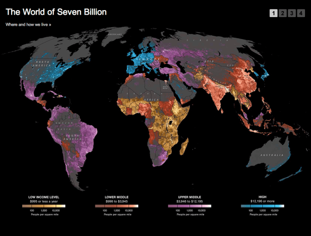 World of Seven Billion