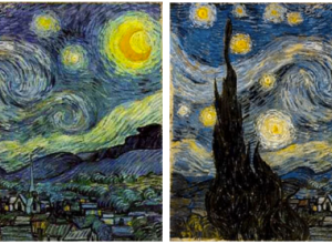 Starry night blind