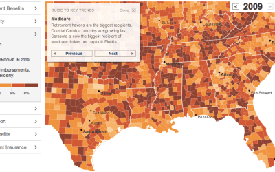 Geography of Benefits - Medicare