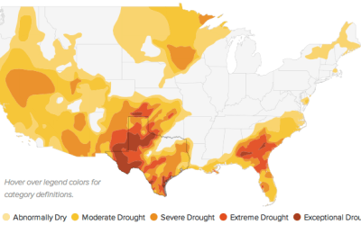 Drought map