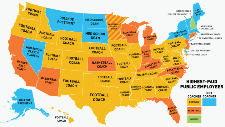 Coaches map