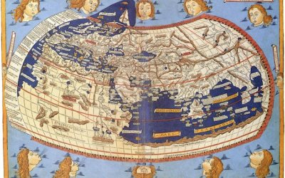 Claudius Ptolemy world map