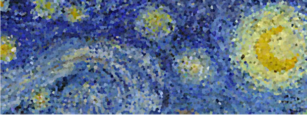 Starry Night sampled