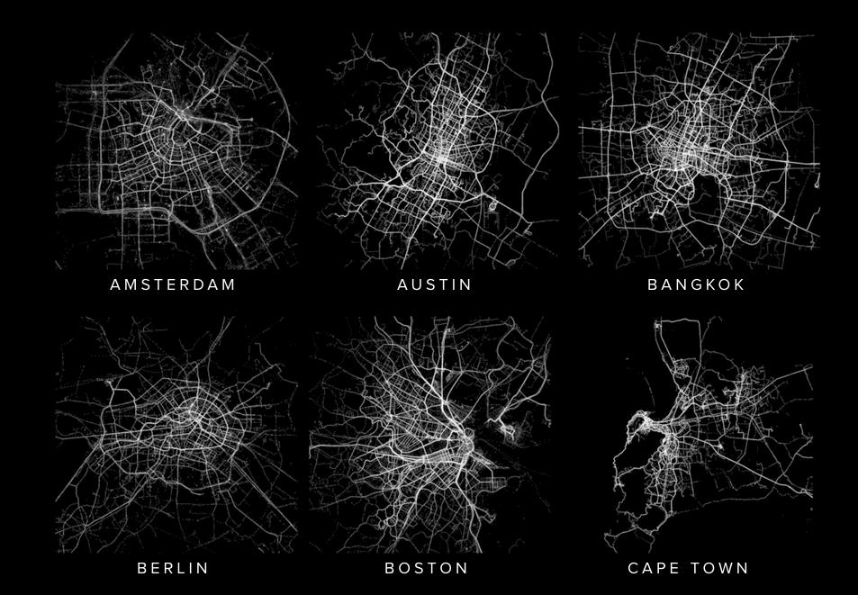Human maps