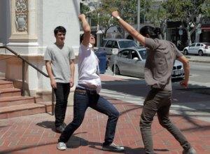 Dancing in public