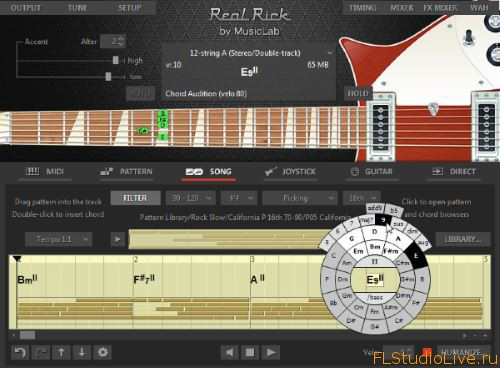 Скачать гитарный VST плагин MusicLab RealRick v4.0.0.7250 Incl Patch and Keygen