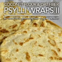 Coconut Flour & Oat Fiber Pyslli Wraps - Atkins OWL Friendly