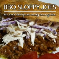 Quick BBQ Sloppy Joes - Low Carb|Gluten Free
