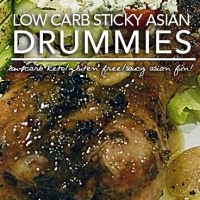 Sticky Asian Drummies - The Low Carb Asian Wing Sub