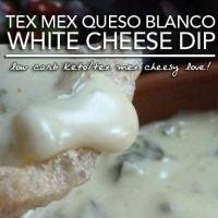Low Carb Queso Blanco - A White Cheese Dip That Makes Your Taste Buds Sing!