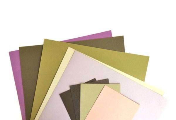 Succulent Paper Colors