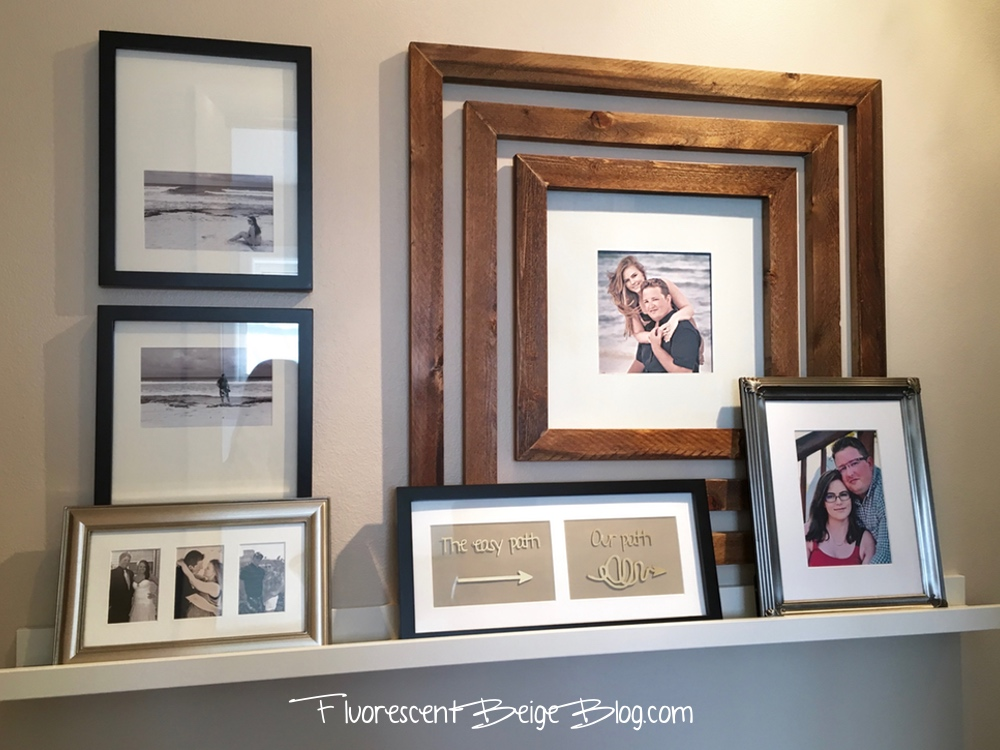 Hallway Wood Frames 1