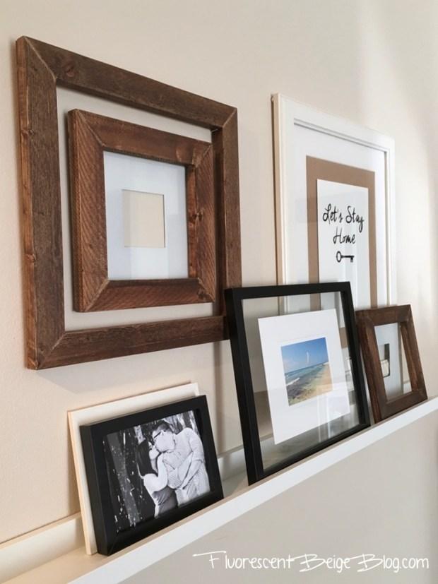 Hallway Wood Frames 3