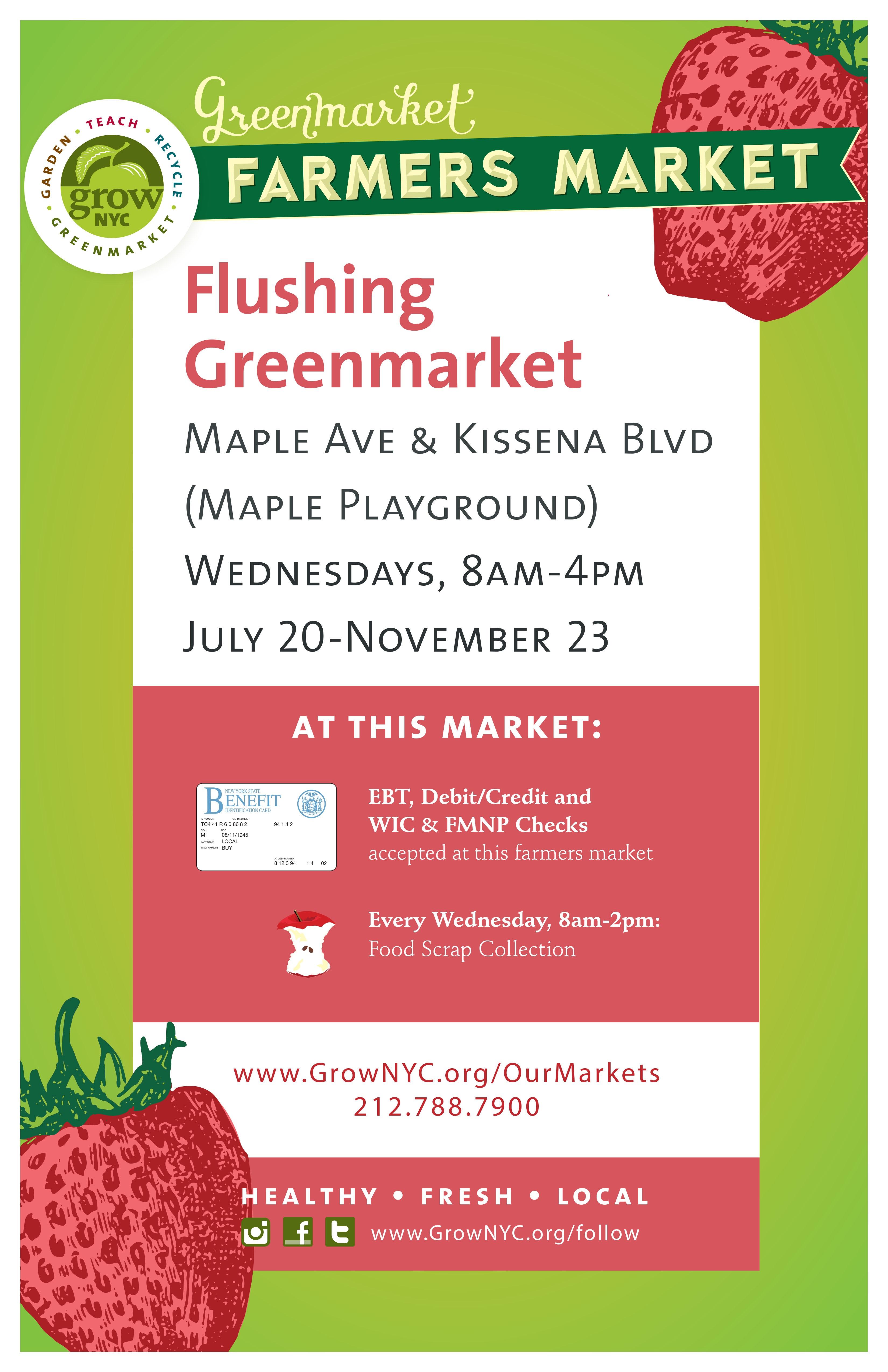 Poster_Flushing Greenmarket