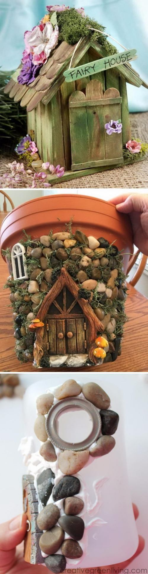 Medium Of Fairy Garden Houses
