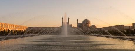 Der Imam-Platz in Esfahan