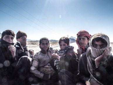 Afghanische Schuljungen