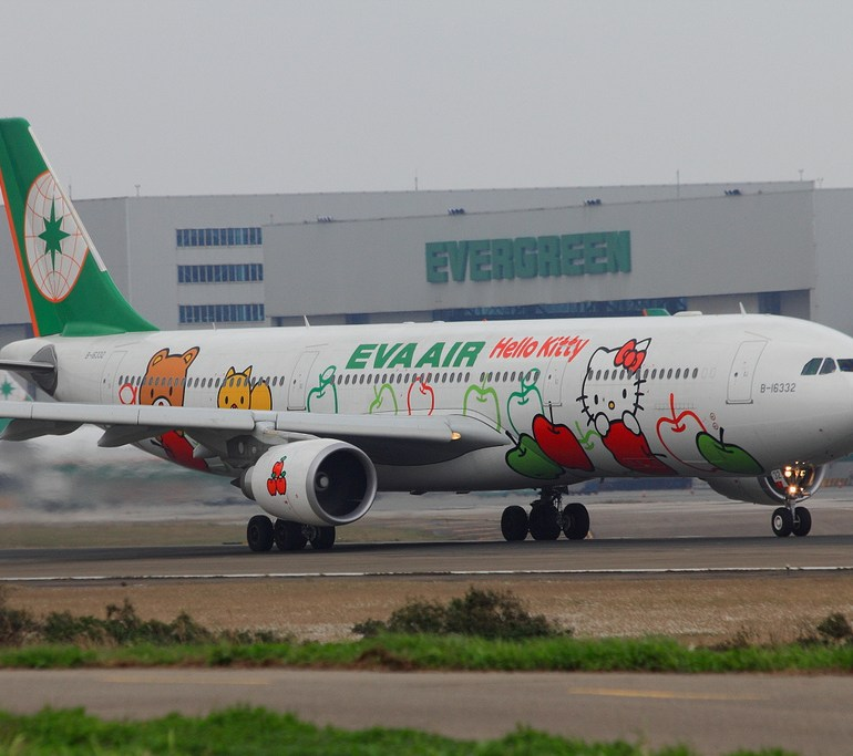 What Kind of Food Do They Serve on the EVA #HelloKitty Planes?