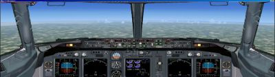 Boeing 738 Panel For Dual Monitors for FSX