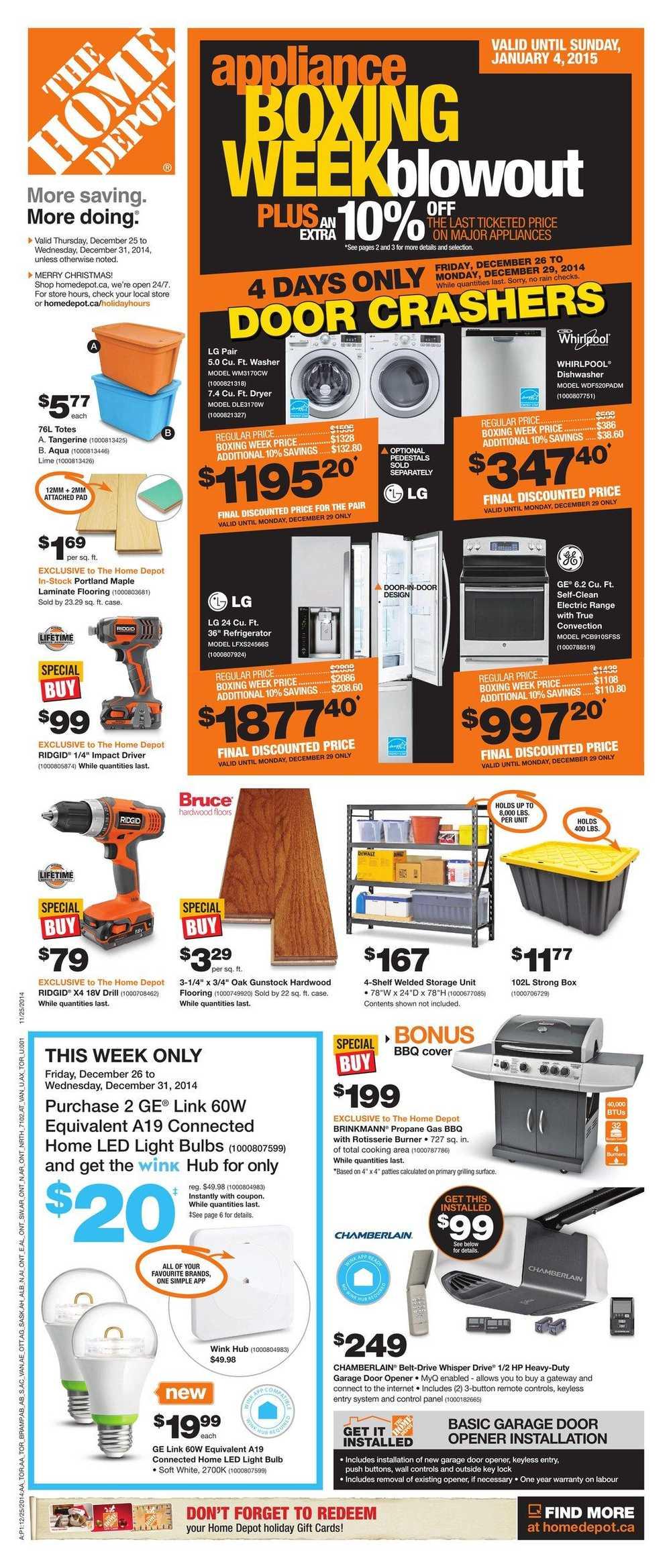 Fullsize Of Home Depot Cyber Monday