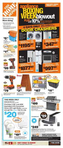Idyllic Home Depot On Boxing Day Week Flyer 2014 1 Home Depot Cyber Monday 2018 Home Depot Cyber Monday Promo Code