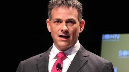 Einhorn is sticking to his guns despite one of the worst quarters ever David Einhorn
