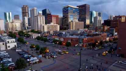 Skyline of Denver, Colorado