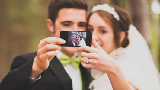 Blame social media for the rising cost of weddings